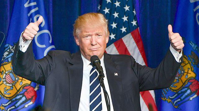 Республиканец Дональд Трамп одержал победу на выборах президента США