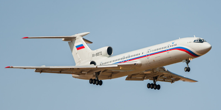 Опубликовано последнее фото Ту-154 за несколько часов до крушения